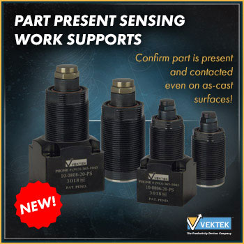 Part Present Sensing Work Supports